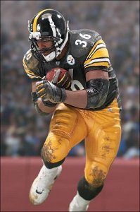 Jerome Bettis Sports Pick figure from McFarlane Toys - amazing detail for a 6-inch figure