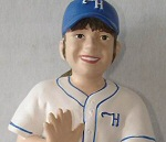 Photo of the On the Field Child sports action figure from Hartland of Ohio