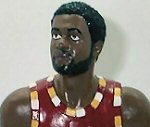 Photo of Jim Chones action figure from Hartland