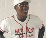 Photo of the Minnie Minoso Negro League sports action figure from Hartland of Ohio