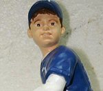 Photo of the pitcher child figure from Harland LLC