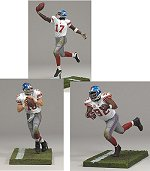 Photo of the New York Giants Sports Picks 3-pack of action figures, from McFarlane
