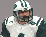 Photo of the Brett Favre New York Jets Sports Picks action figure from 2008 NFL Wave 3 Series from McFarlane