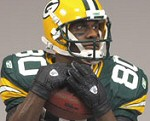 Photo of the Donald Driver figure from NFL 2008 Wave 3 Sports Picks from McFarlane
