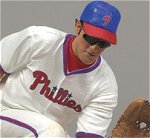 Photo of the Chase Utley Sports Picks figure to be sold exclusively through BC Sports stores, from McFarlane