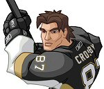Photo of Sidney Crosby II Concept Illustration for his upcoming Upper Deck All Star Vinyl Action Figure