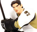 Photo of the Sidney Crosby II all star vinyl action figure from Upper Deck